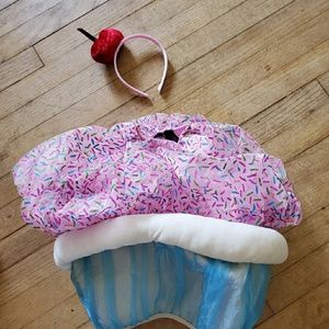 Other - 2t cupcake costume